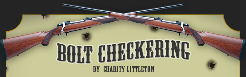 Bolt Checkering by charity littleton